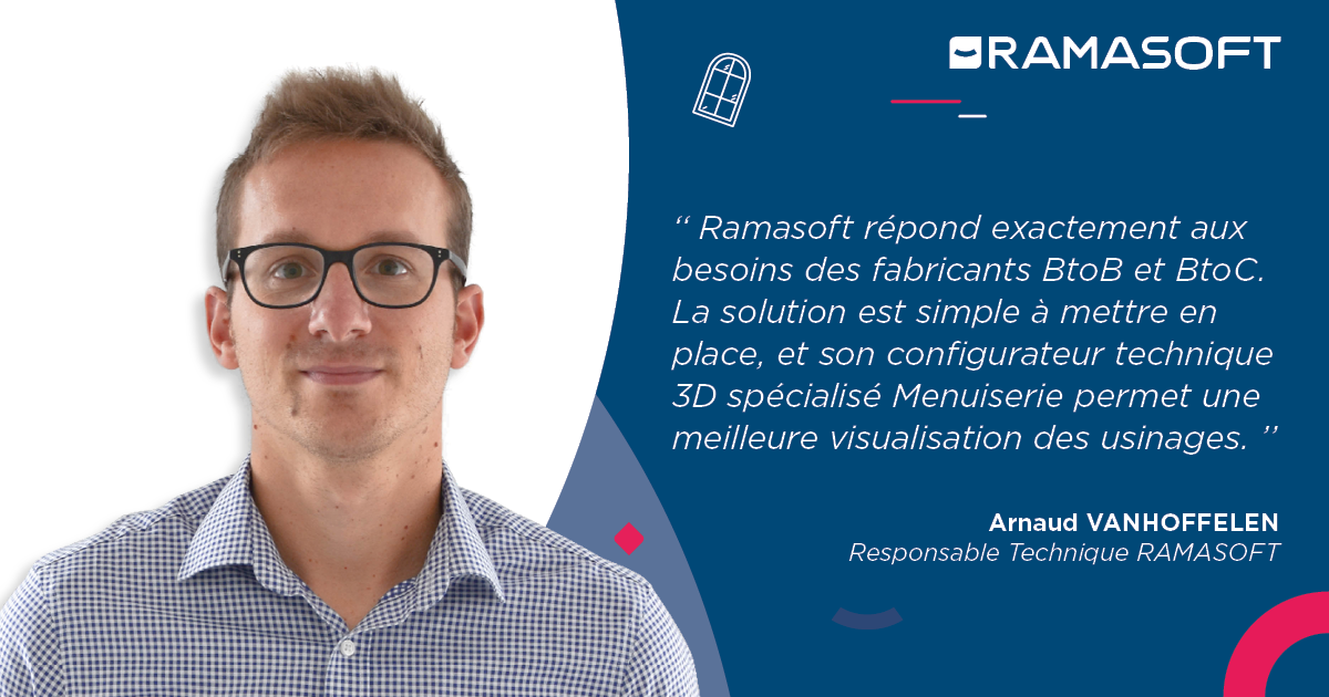 Arnaud VANHOFFELEN Responsable Technique Ramasoft ELCIA