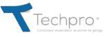 logo techpro produit avec phrase